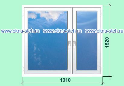 Цена пластиковых окон калева для домов серии ii-49. размеры .